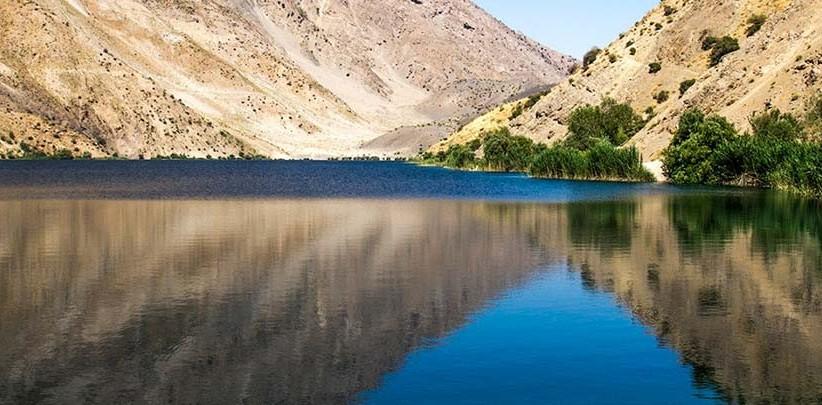 دریاچه زیبای گهر